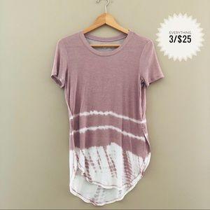 Women's MUDD tie dye t-shirt